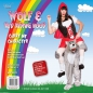 Preview: Carry Me Riding Hood Wolf Huckepack Kostüm