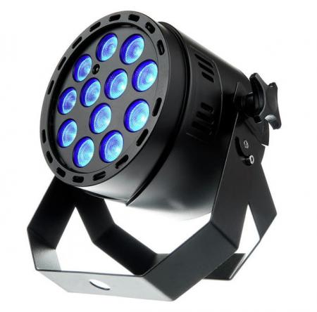 Fun Generation LED Pot Par Scheinwerfer 12x1W QCL RGB WW 40° Abstrahlwinkel