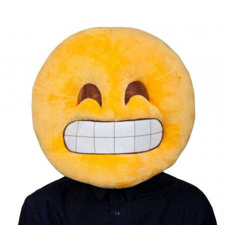 Grinsender Smiley Maske Emoticons