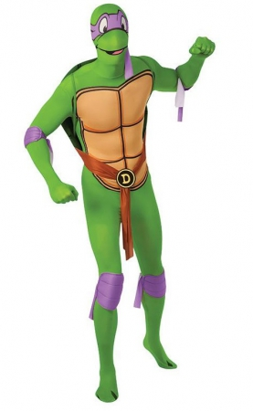 Teenage Mutant Ninja Turtles Donatello Second Skin Herrenkostüm