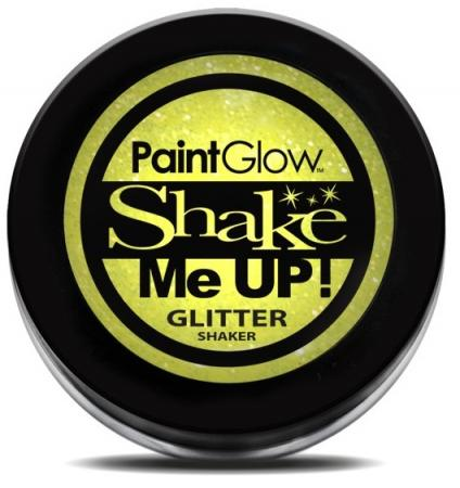 Paintglow UV Glitter Shaker Lemon Gelb