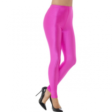 80ER JAHRE STRETCH LEGGINGS PINK