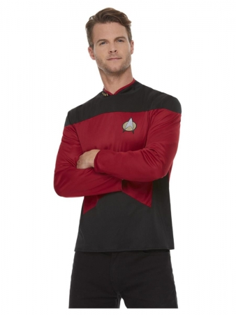 Star Trek next Generation Käptn Picard Commander Uniform