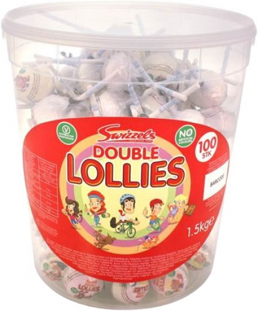 Swizzels Traubenzucker Lolly Double Lollies