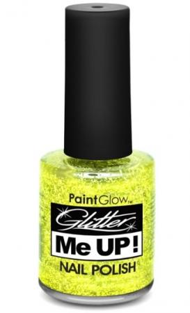 Paintglow Glitter Nagellack Gold 12ml