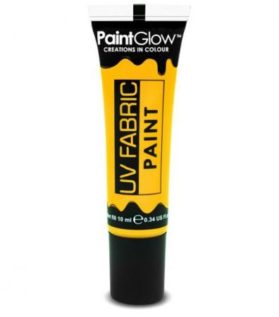 Paintglow UV Textilfarbe in Neon Gelb 10ml