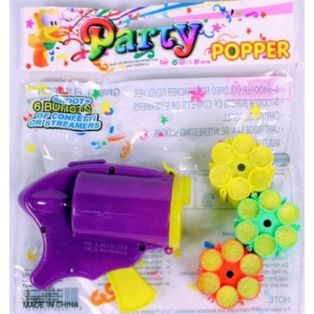 Konfettipistole mit Munition Party Popper