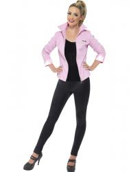 f2cdc9e721e044 50er Jahre Grease Pink Ladies Jacke Deluxe