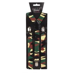 Hosenträger Camouflage Armee Muster