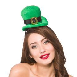 St. Patrick Mini Damen Leprechaun Kobold Hut