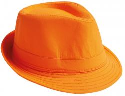 Fedora Party Hut neon-orange