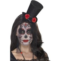 Mini Black Beauty Zylinder Day of the Dead