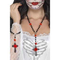 Day of the Dead Schmuck Set 2-teilig