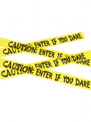 Absperrband Caution Enter if you Dare 6m