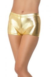 Goldene Hot Pants Shorts in Gold