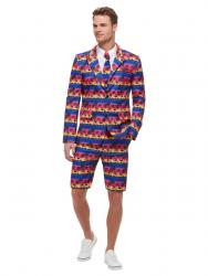Mister Sunset Flamingo Party Anzug Standout Suit