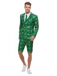 Mister Tropical Palmen Party Anzug Standout Suit