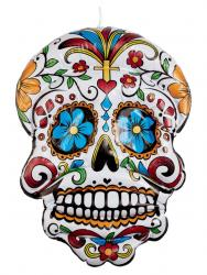 Aufblasbarer Day of the Dead Totenkopf 100cm
