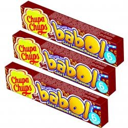 Chupa Chups Big babol Cola Lemon 3x6er 3 Riegel