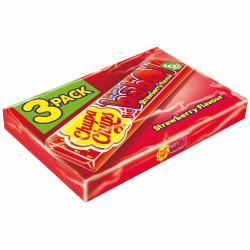 Chupa Chups Big babol Strawberry 3 Stangen 18 Stück