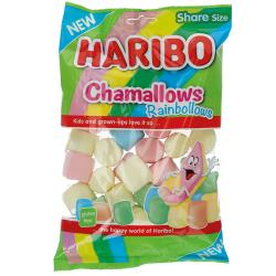 Haribo Chamallows Rainbollows 175g Marshmallows